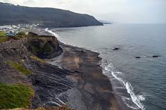 Round Wales Walk 42 - Looking Back at Clarach Bay (Nikki & Tom) Tags: walescoastpath ceredigion wales uk sea coast cliffs bay beach
