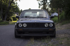 e30 front (Michael Dees) Tags: cars nissan r32 bmw s13 s14 e30 euro jdm imports dirt nasty low