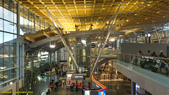 Oslo, Norway: Oslo-Gardermoen Lufthavn (Airport) great hallway (nabobswims) Tags: airport architecture gardermoen hdr highdynamicrange lightroom lufthavn no nabob nabobswims norges norway oslo photomatix sonya6000 akershus