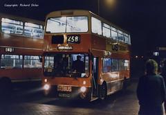 YNA340M Harrow Bus Station xxNov87 (Mainline South) Tags: yna340m gmbuses harrow harrowbuses metroline northerncounties gmstandard atlantean fleetline
