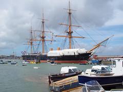 IMG_2915 (C.K.H.) Tags: portsmouth historic dockyard hmswarrior