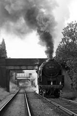 GCR 44042bw (kgvuk) Tags: gcr greatcentralrailway trains railways locomotive steamlocomotive 9f 2100 92212 92178 loughborough woodthorpe