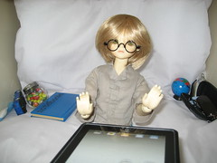 Start of School 001 (EmpathicMonkey) Tags: bjd bluefairy olive toby photo story ball jointed dolls toys