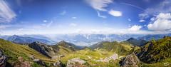 270 Inntal (art180) Tags: christianmichelbach alpen art180 berg kellerjoch kreuzjoch panorama tirol sterreich schwaz at karwendel tyrol inn mountain alps sptsommer summer