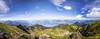 270° Inntal (art180) Tags: christianmichelbach alpen art180 berg kellerjoch kreuzjoch panorama tirol österreich schwaz at karwendel tyrol inn mountain alps spätsommer summer