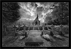 Voigtlander Heliar-Hyper Wide 10mm f/5.6 Aspherical on Sony A7R IR(720nm) (Dierk Topp) Tags: a7rir bw voigtlanderheliarhyperwide10mmf56aspherical infrared sw sony superwide ultrawideangle wideangle graveyard