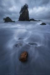 pacific blues (addamsoule) Tags: ocean coast washington twilight blue hour haystack northwest 2nd beach