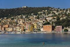Villefranche, French Riviera... (Claude Jenkins) Tags: ctedazur frenchriviera villefranche port harbour mer sea seashore mditerran fort montalban nikon d750