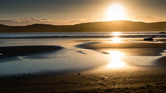 Golden hour at the beach (Merrillie) Tags: daybreak uminabeach landscape nature australia nswcentralcoast newsouthwales sea nsw beach ocean centralcoastnsw umina photography waves outdoors seascape waterscape centralcoast water sunrise