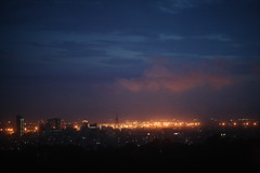 While Chittagong Burns (N A Y E E M) Tags: sky horizon evening light cloud city terrace 20thfloor restaurant bar mezetto radissonblu hotel chittagong bangladesh sooc raw unedited untouched availablelight handheld