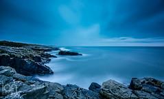 Duntanburgh Castle (ianbrodie1) Tags: black hole craster northumberland coast coastline rocks longexposure haida 10 stop nikon d750 dunstanburghcastle blue water sea seascape