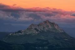 Udalaitz (Mimadeo) Tags: basquecountry mountain mountains basque mount peak sunset red rock rocky view sky top mountaintop spain urkiola udalaitz paisvasco euskadi