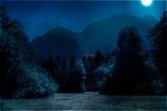 Schlo Hohenschwangau (a.Kry) Tags: blue trees summer mountain black building castle nature germany landscape bayern deutschland scenery day countries 7d canondslr canoneos fussen schwangau                 nightfromday  akryphotoart canoneof7d