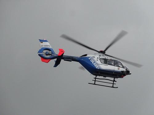 ADAC Rallye Deutschland 2012 406 Arena Panzerplatte - Eurocopter EC135 D-HRPA Polizei