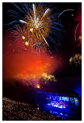 Fireworksconcert in Dalhalla