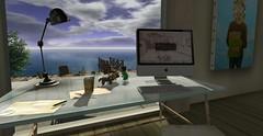 ...my desk today... (lindini2) Tags: lamp table sl secondlife noodles nsb travishouse lovesoul yshouse l2studio