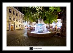 Kaiserslautern - St. Martin's Fountain (MLechuga Photography) Tags: life street new old city travel blue trees light boy sunset red portrait sky people blackandwhite bw italy music orange usa