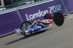 #188 Jol Jeannot (France) (glediator) Tags: cycling bikes paralympics brandshatch london2012