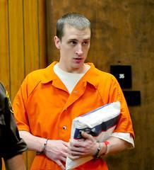 Orange (klagenwagen) Tags: court handcuffs inmate restraints bellychain