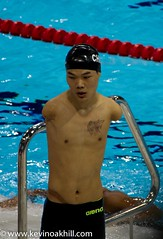 Amazing Chinese swimmer with no arms, Tao Zheng, after his bronze medal swim, London 2012 Paralympic Swimming (www.kevinoakhill.com) Tags: pictures china park london water pool sport swimming canon lens photo amazing kevin shot arms photos oakhill action britain no centre great chinese picture games best east most 7d gb swimmer disabled olympic aquatic olympics armless swimmers 50 incredible ever tao stratford 2012 paralympics remarkable viewed disability aquatics noarms zheng paralympic 18200mm zhengtao kevinoakhill taozheng