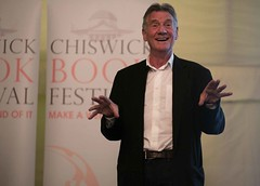 "Michael Palin at Chiswick Book Festival • <a style=""font-size:0.8em;"" href=""http://www.flickr.com/photos/67718176@N07/7985060343/"" target=""_blank"">View on Flickr</a>"