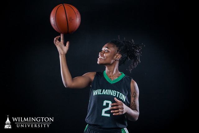 Freshman Tenicia Spence. Photo by Paul Patton