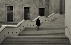 From the London archive (Funchye) Tags: london sarah stairs daughter britishmuseum