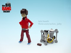 The Wolowitz Emulation (Ochre Jelly) Tags: lego howard cooper penny leonard raj sheldon cbs bbt sitcom moc afol bigbangtheory wolowitz