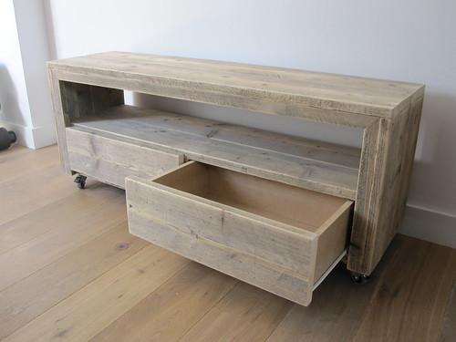 Tv Meubel Wieltjes : ≥ donker tv meubel op wieltjes kasten tv meubels marktplaats