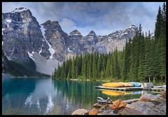 Moraine Lake (jeannie'spix) Tags: canada lakemoraine