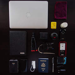 whatsinyourbag macbook macbookair mba microfiber microfibre spendla ibuprofen amazon kindle joby gorillapod tumi tumitech charger voltageadapter sonyrx100 digitalcamera dscrx100 zeiss zte hotspot internationalhotspot sprint ibattz iphonecharger mychargeportablepowerbank6000 nokialumia800 appleusbtoethernet ethernetadapter passport pen gum cobaltgum europeancharger usbcharger x10mini mycharge ttech