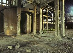 Gateway (soho42) Tags: abandoned industry factory decay forgotten urbanexploration portal 2012 ue urbex mamiya645protl kodakportapro160 greenriot