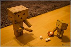 Day 47 . Ball, Strike, Home run (Only in RAW ) Tags: japan toys happy robot amazon box explorer mini days cardboard danny 365 danbo amazoncojp revoltech danboard minidanbo