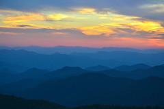 Sunset, Blue Ridge Parkway (esywlkr) Tags: sunset landscape nc northcarolina blueridgeparkway wnc westernnorthcarolina brpw