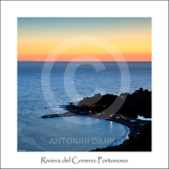 Riviera del Conero, Portonovo (17985) (Danilo Antonini (Pescarese)) Tags: park travel blue sea summer sky italy panorama cliff parco holiday seascape tower beach nature water colors silhouette rock clouds sunrise canon landscape eos bay long exposure riviera italia nuvole mare waves colours torre estate natural alba blu horizon tripod natura tourist cielo acqua turismo colori conero viaggio spiaggia touring regional marche vacanza paesaggio adriatic manfrotto onde adriatico ancona lunga esposizione scogliera orizzonte cavalletto baia portonovo regionale naturale sagoma scoglio treppiedi canonef24105f4lisusm pescarese canoneos5dmark2