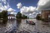 On zzapback's playgrounds... (Hans Kool) Tags: holland water dutch photography boot boat canal fotografie kade nederland culture veer overschie kanaal bootje hdr roeien cultuur dutchlandscape vaart zuidholland cultureel rivier schie roeiboot veerhuis oever dutchculture zzapback