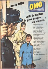 The 1960s-1960 Constellation magazine ad (april-mo) Tags: vintage ad laundry 1960 the60s omo vintagead vintagemagazine the1960s vintagefrenchmagazine vintageadforomo omowashingpowder publicit1960 1960constellation