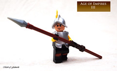 Veteran Pikeman (Mark of Falworth) Tags: soldier lego age imperial minifig custom empires moc aoe