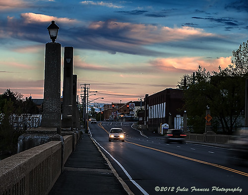 Crossing the Cohoes Waterford Bridge