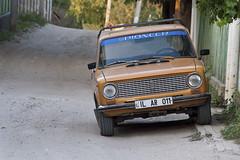 Lada (Pieter v Marion) Tags: car sticker build russian pioneer lada built moldova bardar