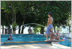 Kids at the Ban Raya Pool (Jamie Monk in Phuket) Tags: thailand island raya phuket koh rachayai rayaisland banraya