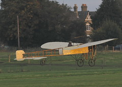 Bleriot XI monoplane c/n 14 (G-AANG) - the world's oldest, airworthy aeroplane, first flew in 1909 (stancs) Tags: shuttleworth shuttleworthcollection oldwarden gaang bleriotxi autumnairdisplay oldestaeroplane