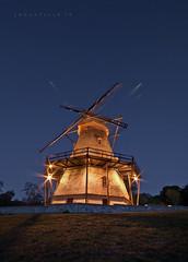 The Windmill (johnofarch14) Tags: longexposure chicago building windmill night illinois geneva outdoor sigma dslr 10mm d3000 fabyanwindmill mygearandme