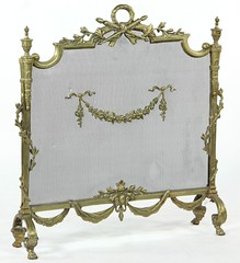 39. Classical French Fire Screen