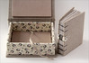 Miniature boxes (Zoopress studio) Tags: miniature box handmade feitoàmão fabric caixa limitededition tecido miniaturebox