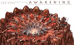 Awakening (Bart De Dobbelaer) Tags: lego space hive diorama