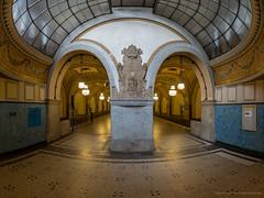 Berlin U-Bahnstation (Sascha Gebhardt Photography) Tags: nikon nikkor d800 1424mm lightroom photoshop fototour fx berlin ubahn hauptstadt travel
