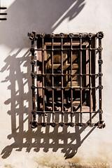 Andalusian window art (lunaryuna) Tags: spain andalusia valencia architecture traditionalarchitecture wall window wood castiron shadow windowart windowwednesday iberiansketches luanryuna urban city lunaryuna