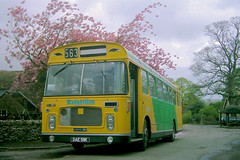 RE under a tree (The return of the spiceymexrice!) Tags: badgerline dae511k rell31579 bristolre ecw leyland0680 preservation preserved stroudrunningday bristolomnibuscompany blossomtree rally spring digitalcamera 1257