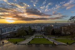 Una bellissima alba al Sacre-Cur, Paris (fotopierino) Tags: sacr cur paris parigi alba fotopierino canon 5d mark iii 1740 nohdr city cielo panorama magnifique paesaggio
